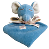 Soft organic baby toy blankets