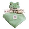 Soft organic baby blanket toy
