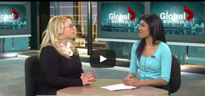 Tracy Braunstein sleep consultant on Global News montreal